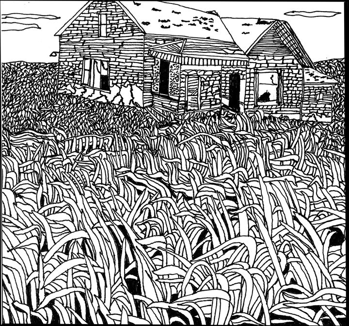 Grass in the Wind - Shoshanah's Art