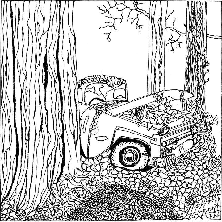 Lost Truck - Shoshanah's Art