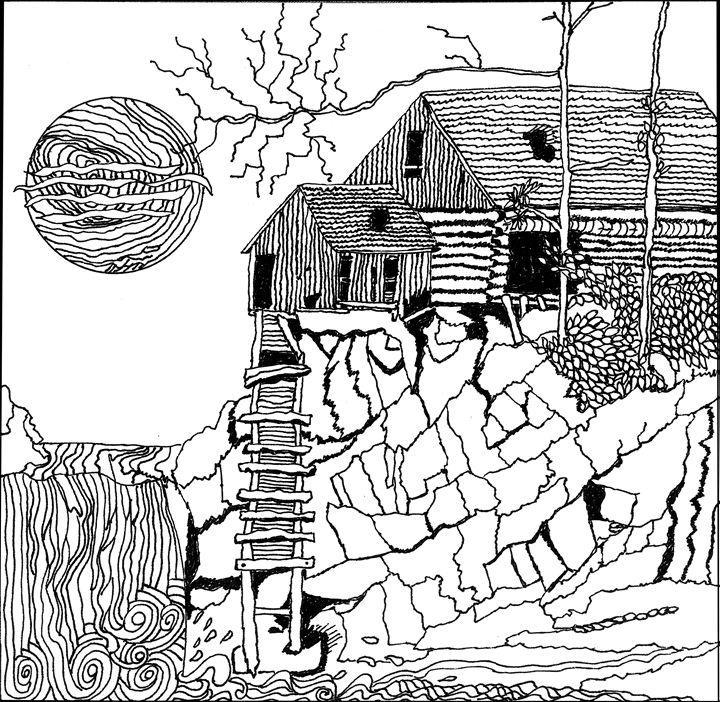 Abandoned Mine - Shoshanah's Art
