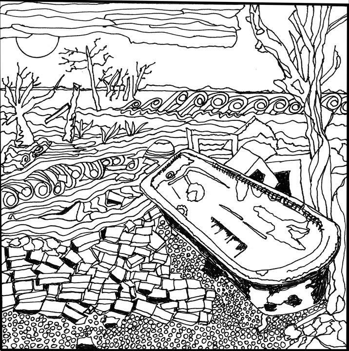 Abandoned Shoreline - Shoshanah's Art