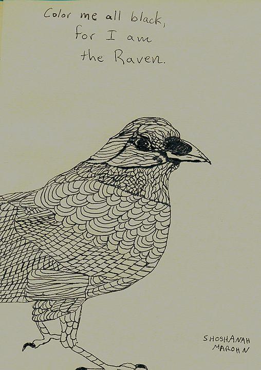The Raven - Shoshanah's Art