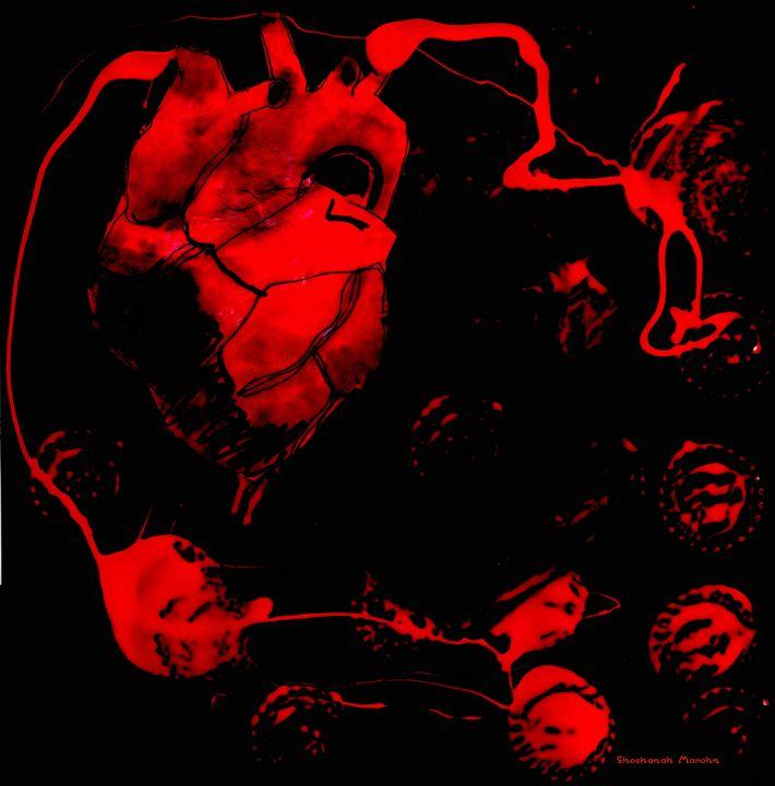A Bleeding Heart - Shoshanah's Art
