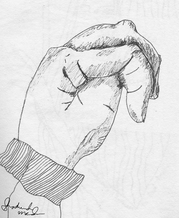 My Hand - Shoshanah's Art