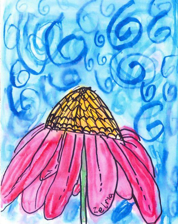 Echinacea - Shoshanah's Art