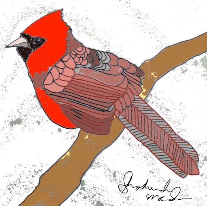 Cardinal - Shoshanah's Art
