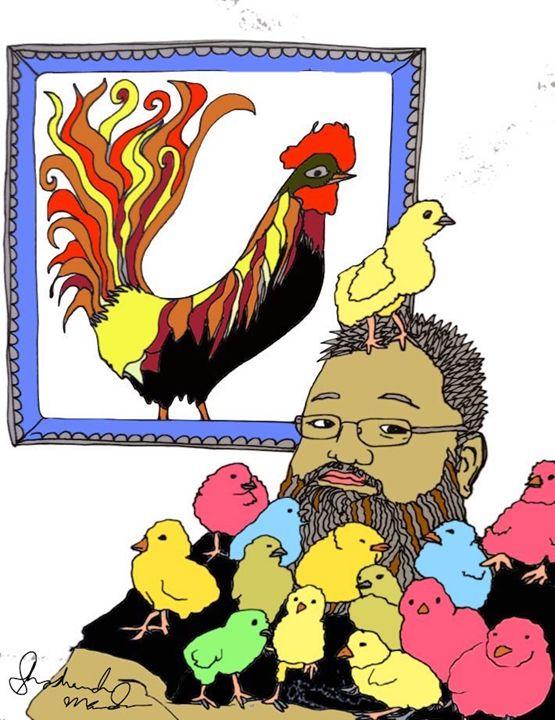 Chick Magnet - Shoshanah's Art
