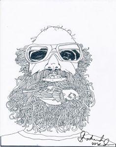 Bird in the Beard