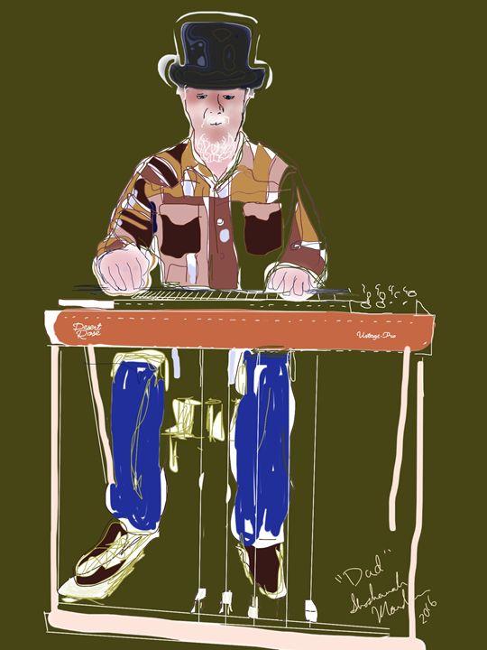 Bobby Lee on Pedal Steel - Shoshanah's Art