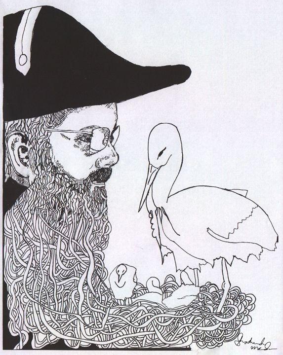 Buck Samuel Dollars with Storks - Shoshanah's Art