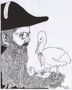 Buck Samuel Dollars with Storks