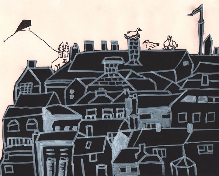 Simple Town - Shoshanah's Art