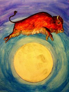 The Buffalo Jumped Over The Moon