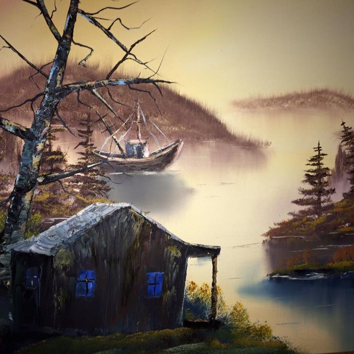 The Fishing boat - Kevin Nunn's Oil paintings
