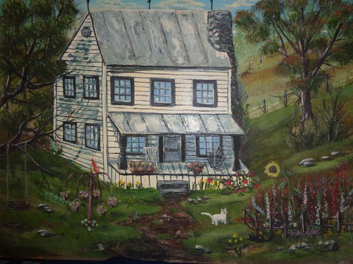 Anabelle's House - Kevin Nunn's Oil paintings