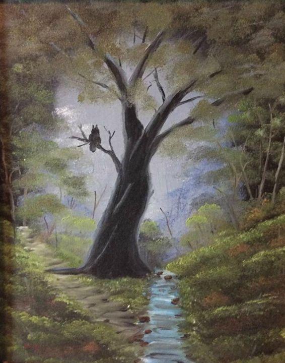 Night Owl - Kevin Nunn's Art Gallery