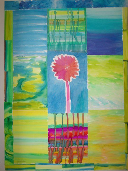 Rain, Sunshine, Flowers - Sara Srubar-Erb