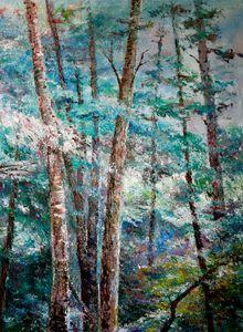 Landscape at blue Colors