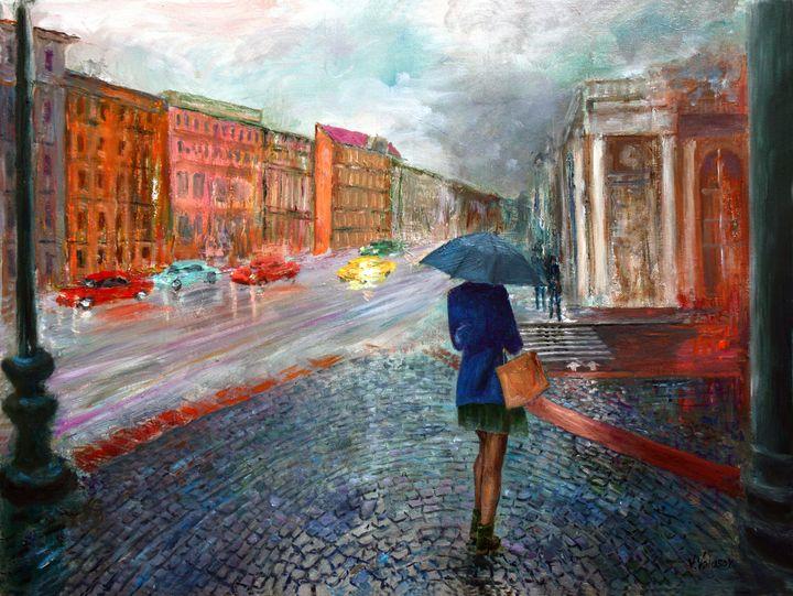 Alone in a Big City - vladart