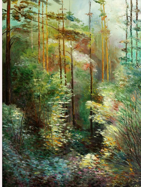 Light and Shadows in the Forest - vladart