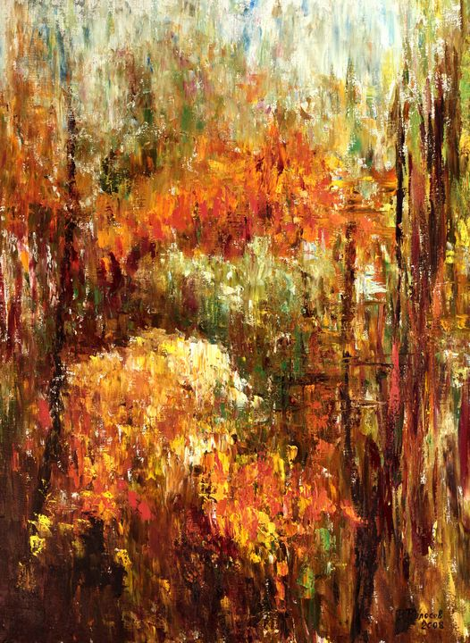 Mountain ash autumn - vladart