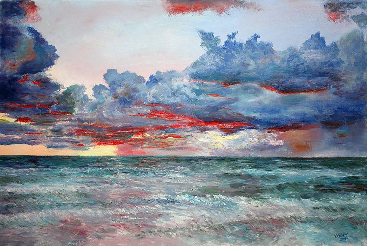 Evening on the Ocean - vladart