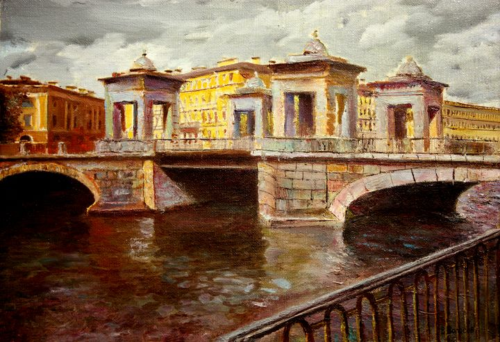 St. Petersburg, Bridge on Fontanka - vladart