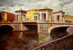 St. Petersburg, Bridge on Fontanka