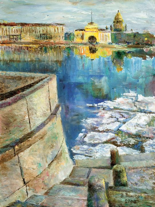 Neva Embankment - vladart