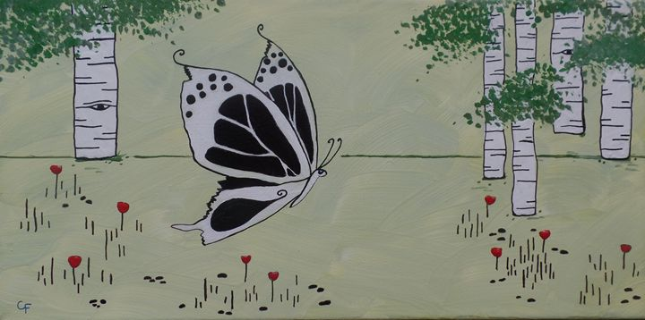 Shy Butterfly - Catherine