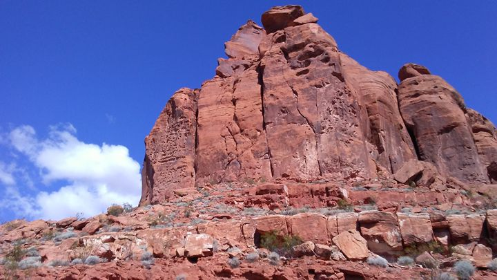 Snow Canyon Utah - Catherine
