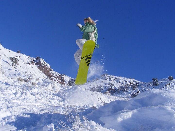 Snowboarding - Catherine