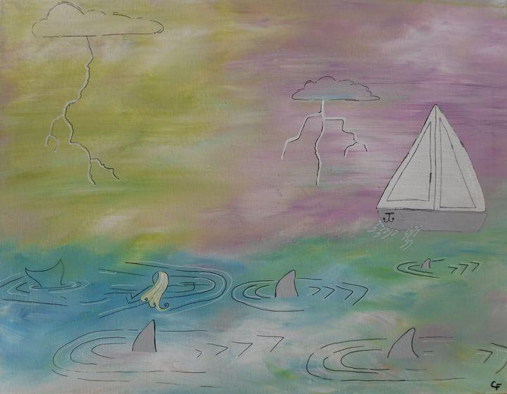 Mermaid Revenge Catherine Paintings Prints Fantasy