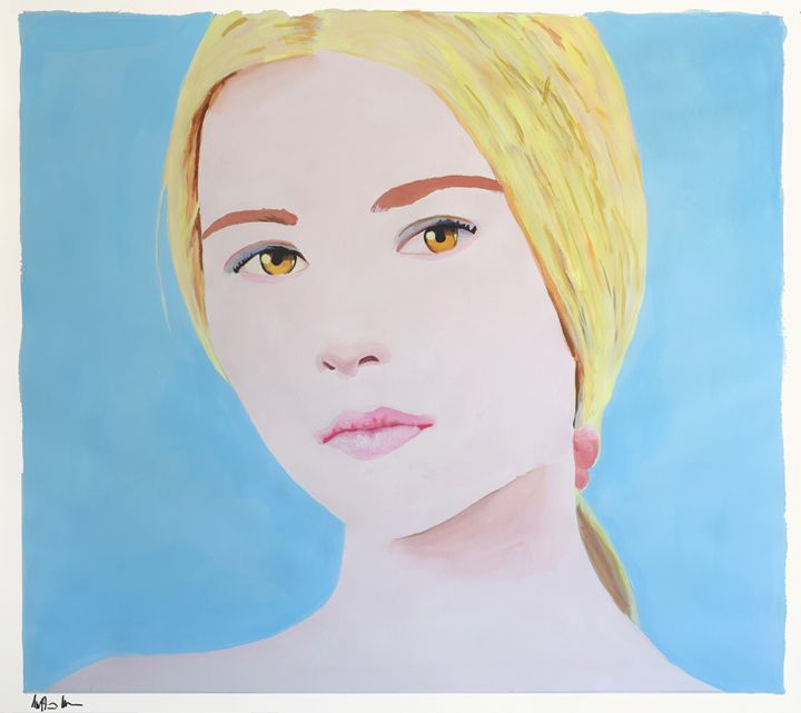 The Girl With Hazel Eyes - Geoff Greene Gallery
