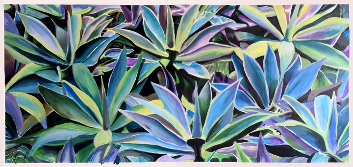 AGAVE WALL - Geoff Greene Gallery