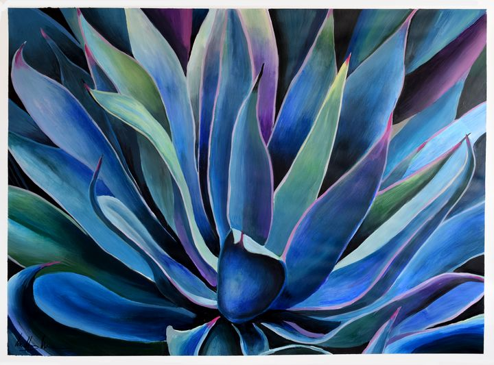 Blue Agave - Geoff Greene Gallery