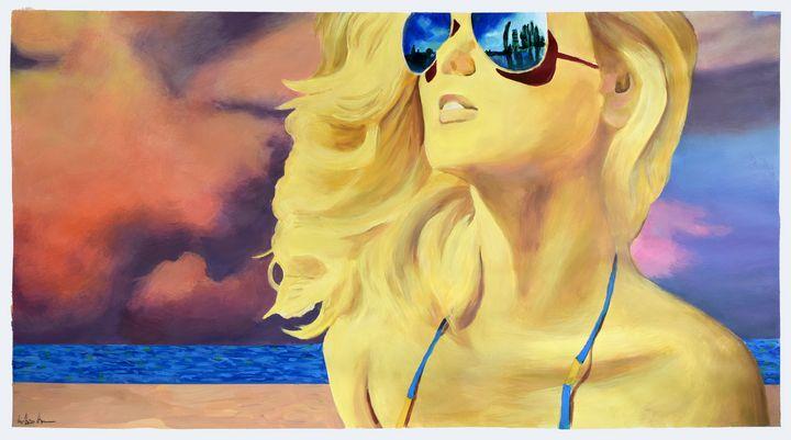 GOLDEN GIRL #1 - Geoff Greene Gallery
