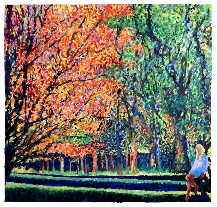 SUN(ny) DAY IN THE PARK - Geoff Greene Gallery