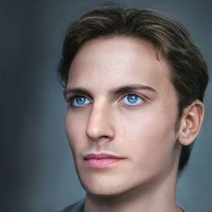 Handsome Man Realistic Portrait