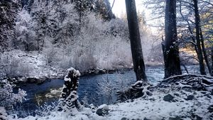 Yosemite in Winter 2