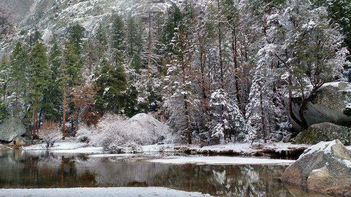 Winter Heaven - Radha Krishna