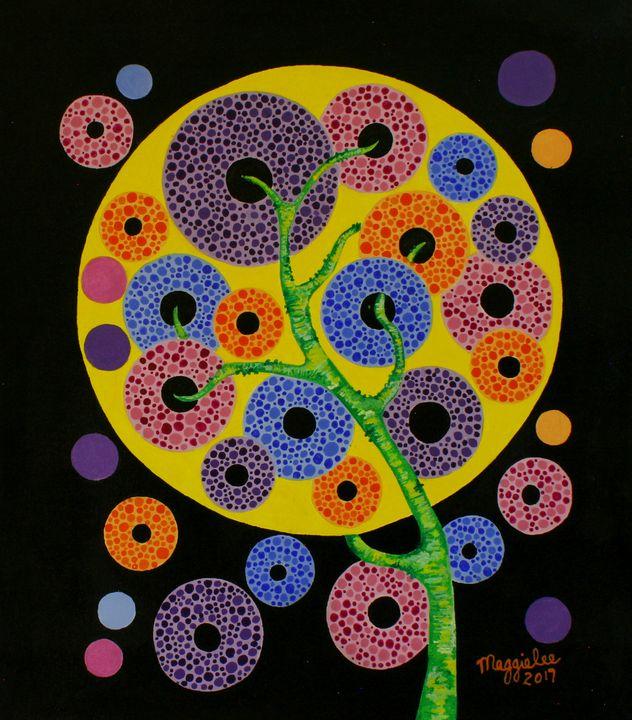Tree - Acrylic on canvas - leeartgallery
