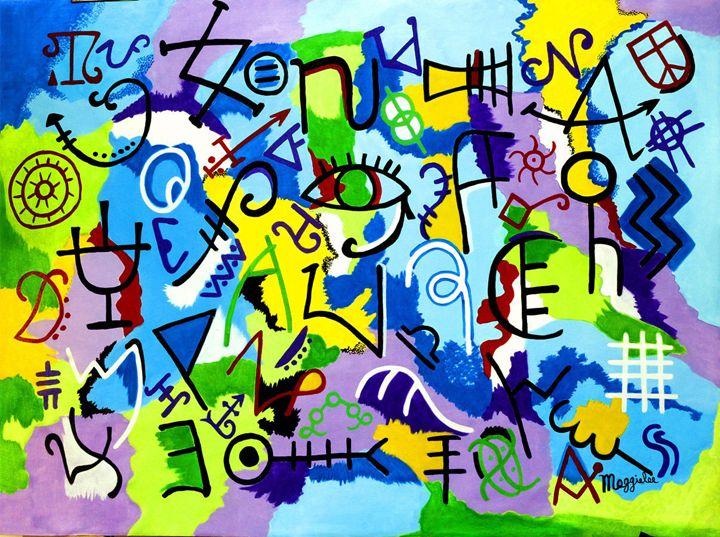 SOLD-Acrylic on canvas - leeartgallery