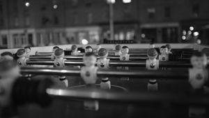 Late Night Foosball - BarryH Photography
