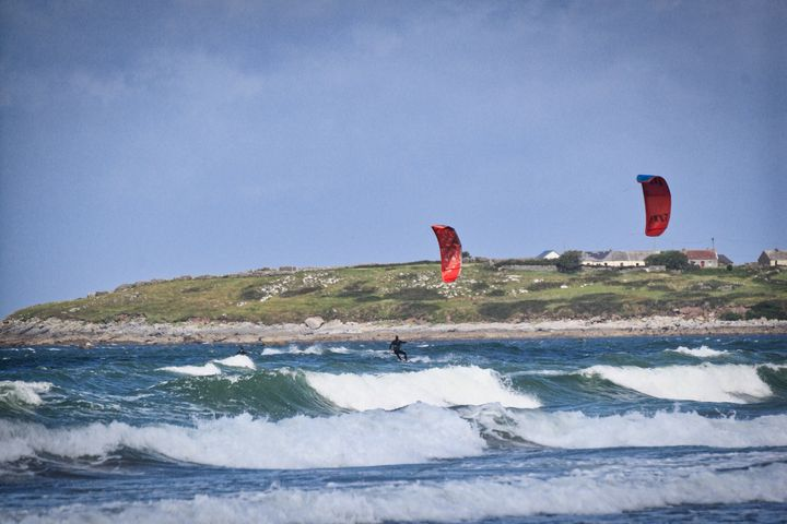 Twin Kites - BarryH Photography