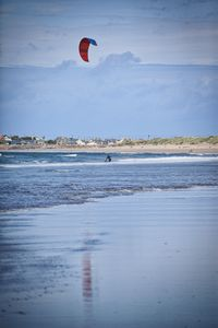 Kite surfing relections
