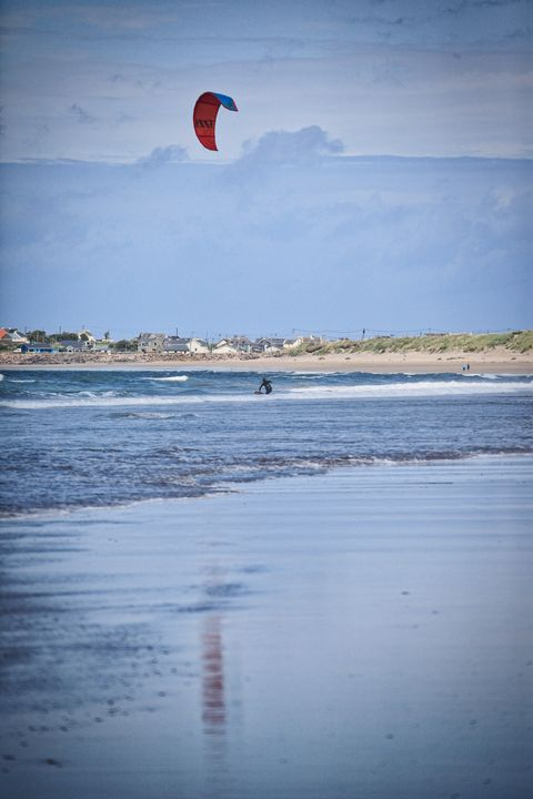 Kite surfing relections - BarryH Photography