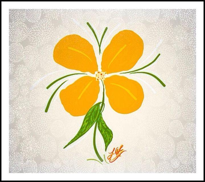 Yellow Spring Flower Burst - Embracing Inspiration