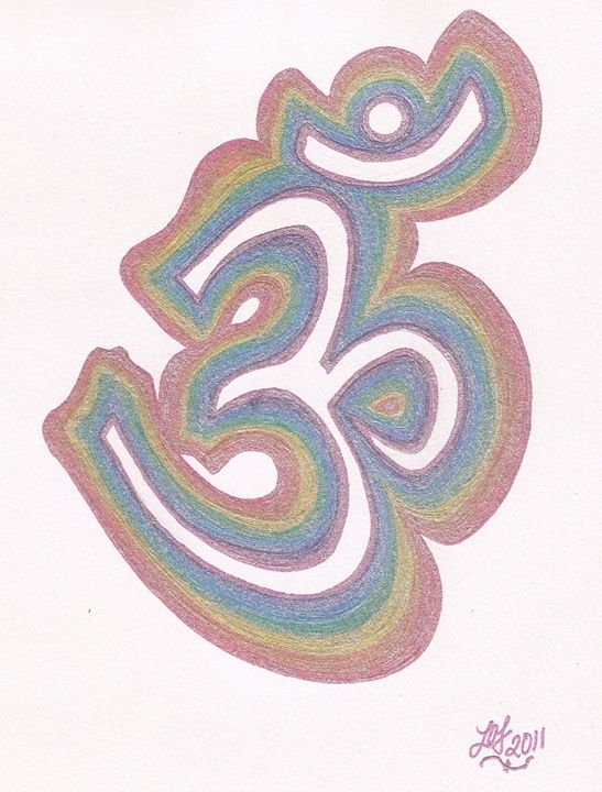 Rainbow OM - Embracing Inspiration