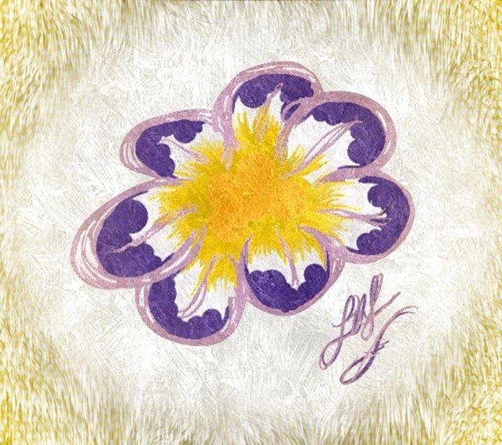 Purple Pansy - Embracing Inspiration