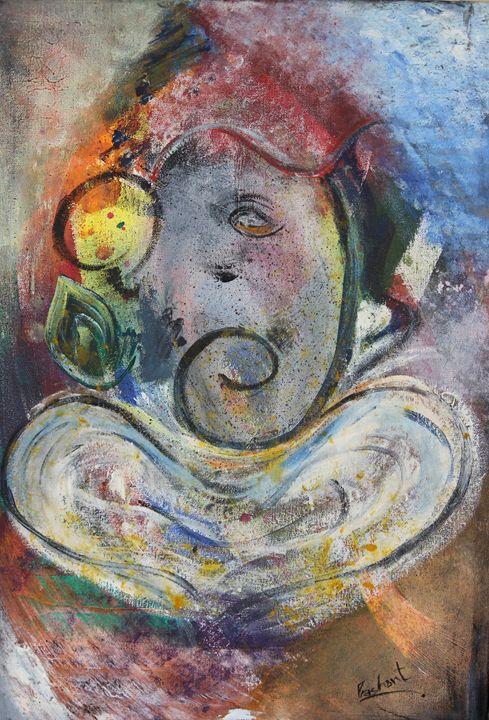 The Colorful Ganesha - Prashant Sharma